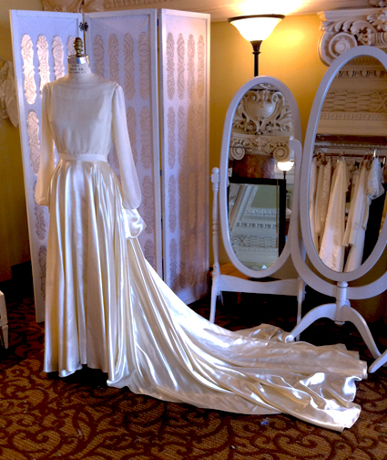 Cristina's Reconstructed Wedding Gown {Part 2}