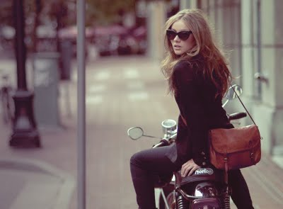 For the girly biker (and bicyclist!)