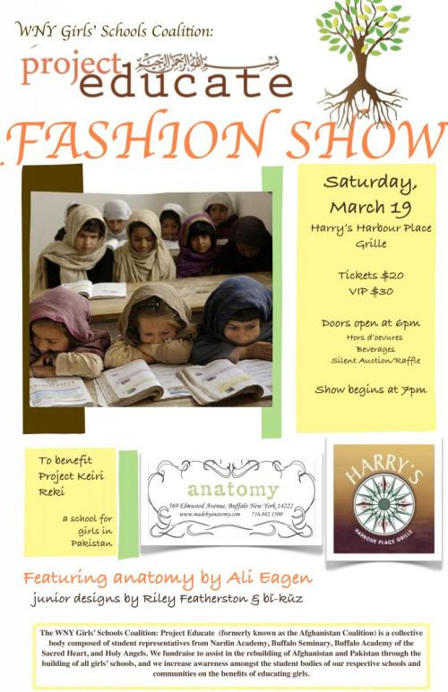 Project Educate Fashion Show Tonight!!