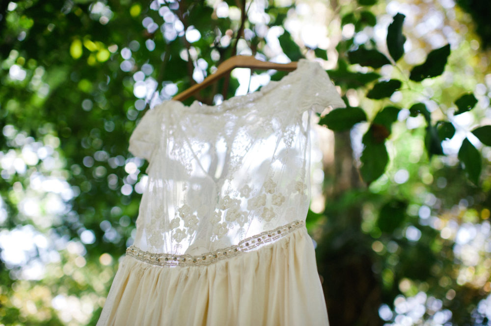 Andrea's Custom Overlay Lace Beach Dress