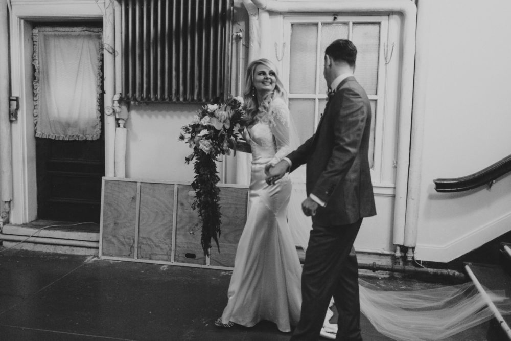 Brooke's Custom Long Sleeve Lace Wedding Dress
